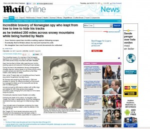Daily mail article fathers escape